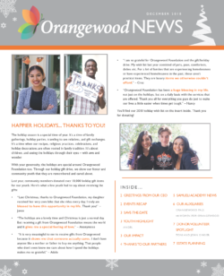 OF YENewsletter Page