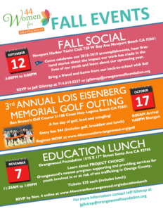 WFO FALL Events