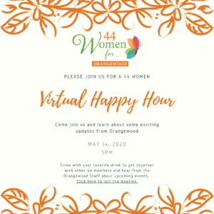 44 women virtual happy hour