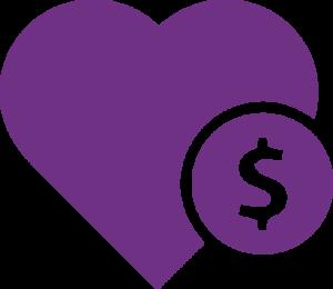 donate purple